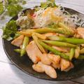 むね肉とアスパラガスのレモンバター醤油炒め アスパラガスの効能効果 アスパラガスの冷凍保存方法