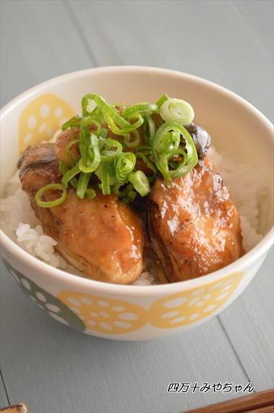 ぷりぷり牡蠣の ガーリックバター醤油丼