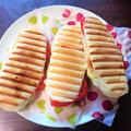 パニーニで朝食!ホットサンドメーカーで簡単に(レシピあり)