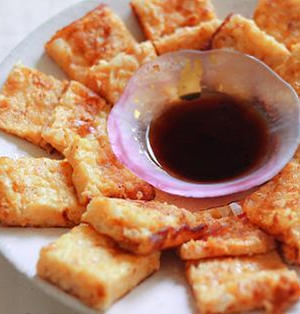 博多鳴海屋めんたい海鮮チャンジャと新玉ねぎのチヂミ。