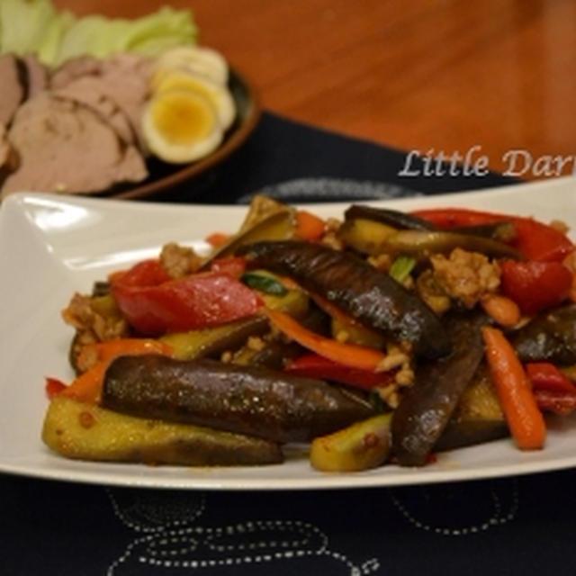 中華ナイト!菜園で採れた野菜が 最高の食材です。