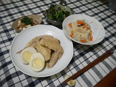 塩麹手羽先の煮物