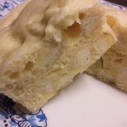 ルクエでさつまいも蒸しパン