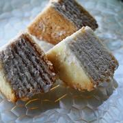 ハーベストのミルフィーユサンド☆重ねるだけでチーズケーキみたい