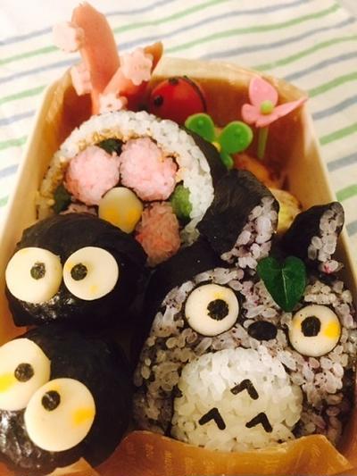 トトロの巻き寿司で楽しいパーティーを演出!