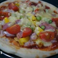 ☆新玉ねぎでピザ☆