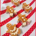 クリスマス☆ジンジャーマンのミニ寿司