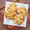 大豆粉と米粉のコーンフレーククッキー