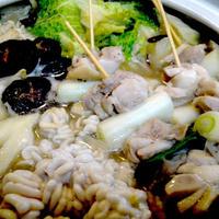 鍋&〆のラーメンde【身体ポカポカ】な楽しい夕食(^^♪ by モニター:マルちゃん正麺(塩)