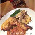 タンドリーチキン風 骨付き鶏のスパイシーソース煮込