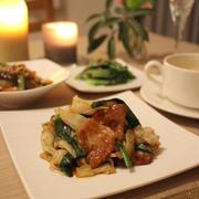 「素」なしでも簡単! 回鍋肉で中華な晩ごはん