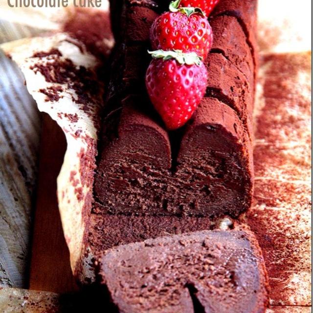 ♡ホットケーキミックス使用♡超簡単生チョコケーキ♡【#バレンタイン#お菓子】
