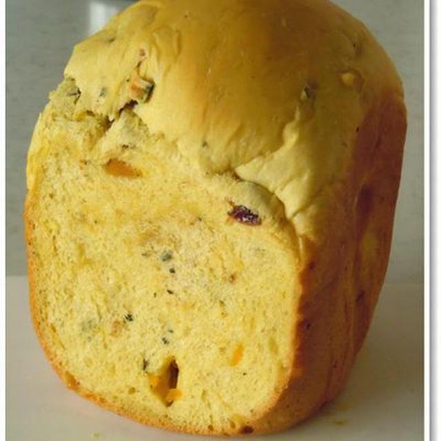 かぼちゃレーズン食パン