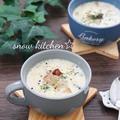大根とベーコンの豆乳スープ☆