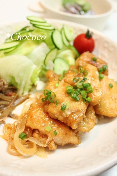 鶏胸肉の南蛮漬け レシピ