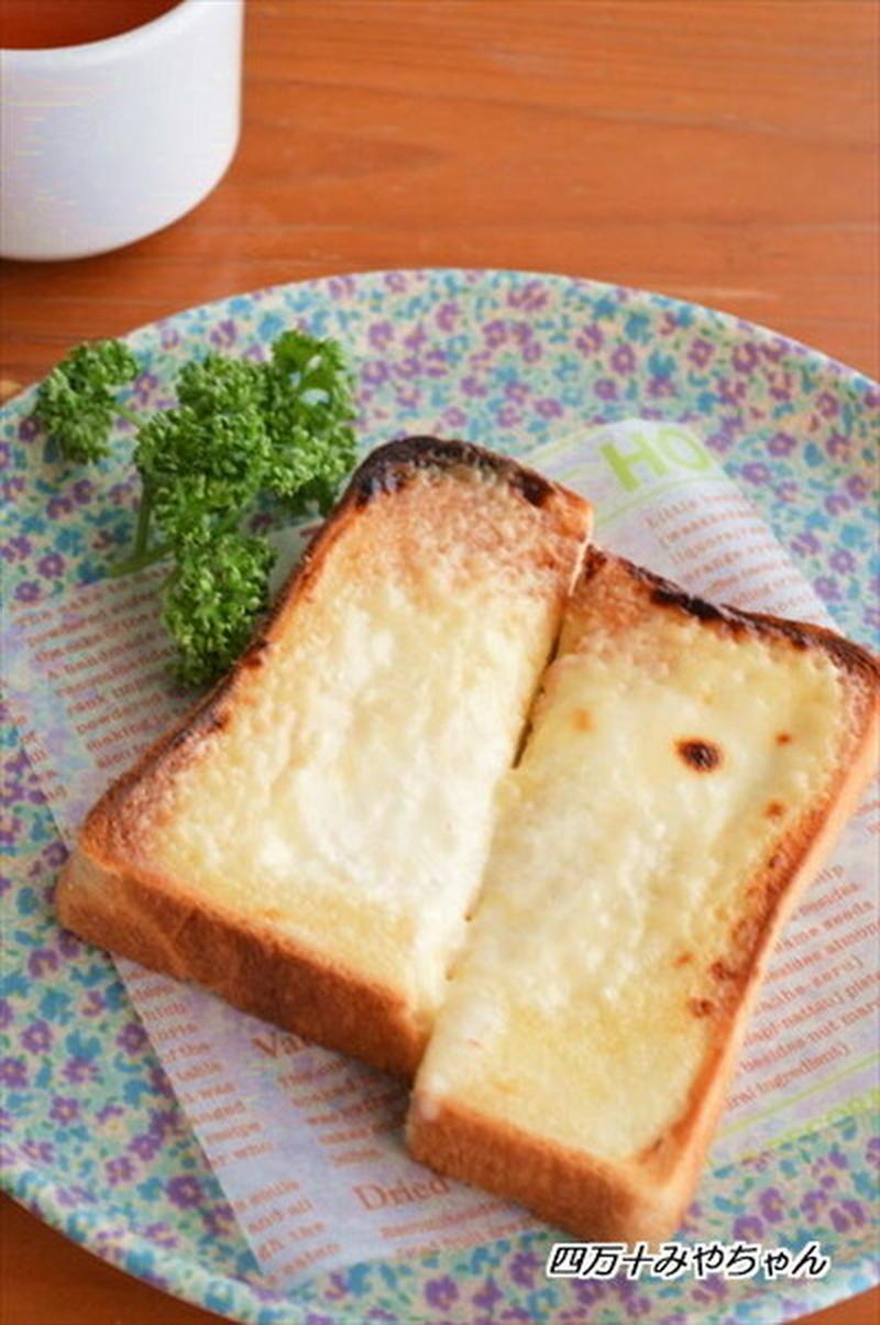 至福の朝ごはん♪作ってみたい「チーズケーキトースト」5選