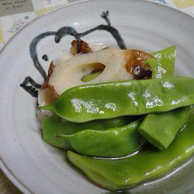 ☆モロッコ豆とちくわの冷やし小鉢☆