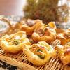 ナツメグの香り◎小松菜とベーコンの小さなキッシュ