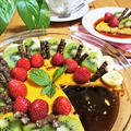 【レシピ】オーブンで簡単スイーツ!たっぷりフルーツの贅沢プリン【甘さひかえめ★とろける美味しさ】