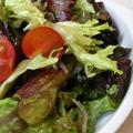 レタスとちりめんの簡単和風サラダ