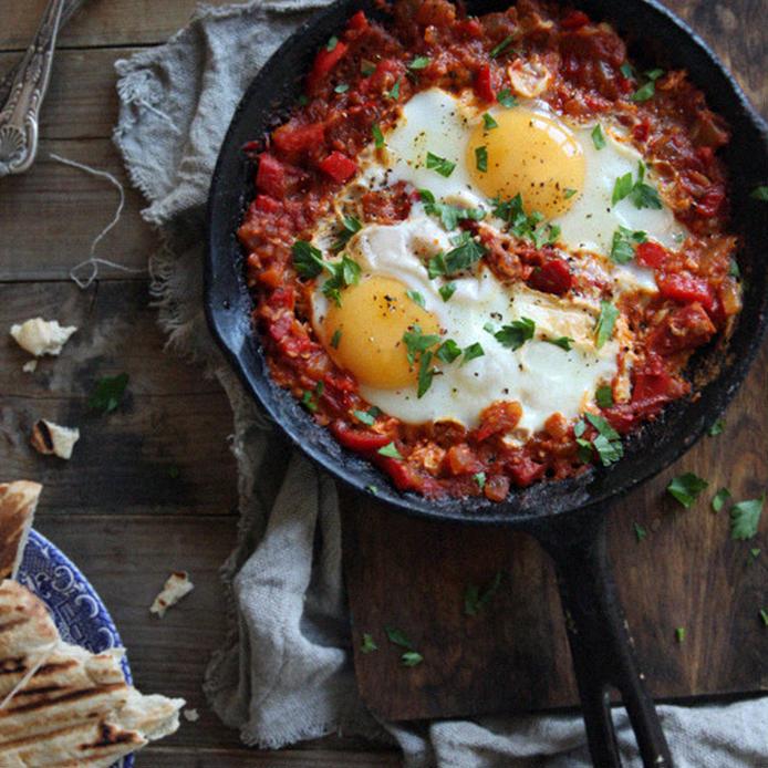 NYで大人気の料理!絶品「シャクシュカ」は朝食にもピッタリ