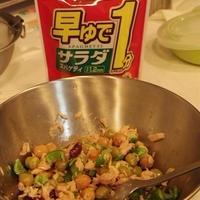 缶詰スパサラ(レシピブログ)
