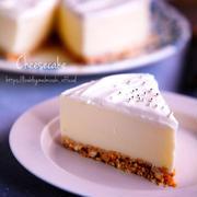♡クリームレアチーズケーキ♡【#簡単#お菓子#オーブン不要#再掲載】