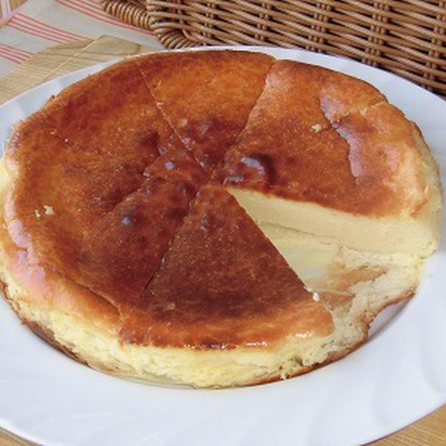 何十年ぶりかのベイクドチーズケーキ~♪