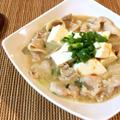 胃躍る旨さ。鶏がら味噌バターの旨み豚バラ豆腐チゲ(糖質6.0g) by ねこやましゅんさん