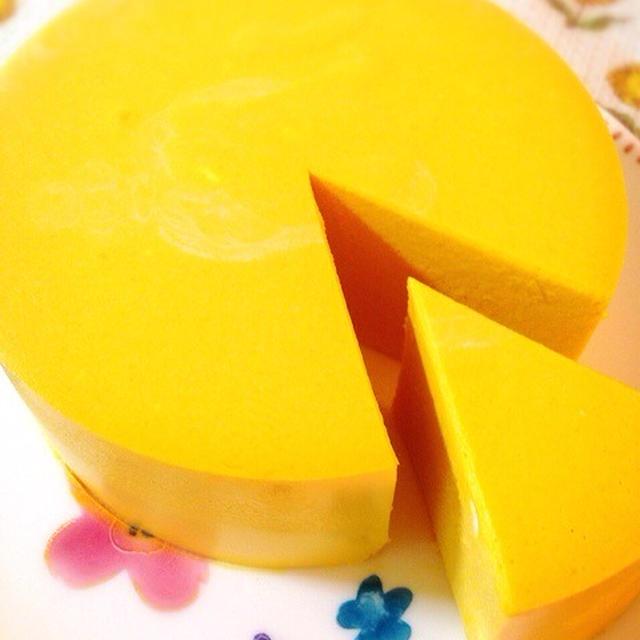 お砂糖なしの南瓜レアチーズ。