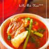 牛肉と大豆のトマトスープ