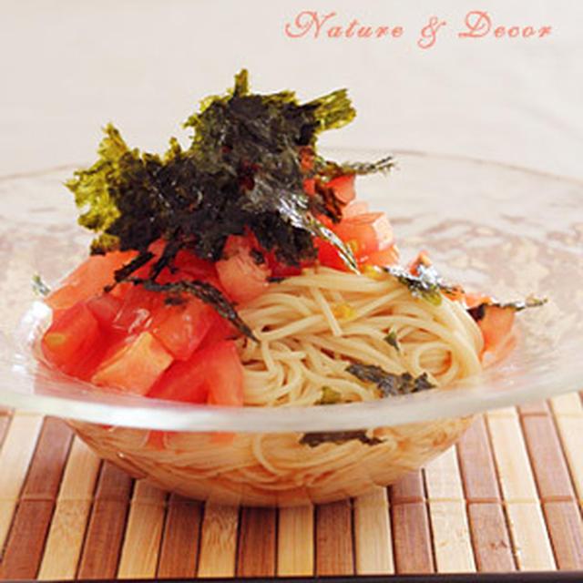 トマト&韓国海苔 冷やし中華