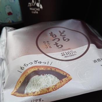 早朝ティータイム【どらもっち(あんこ&ホイップ)・ローソン】