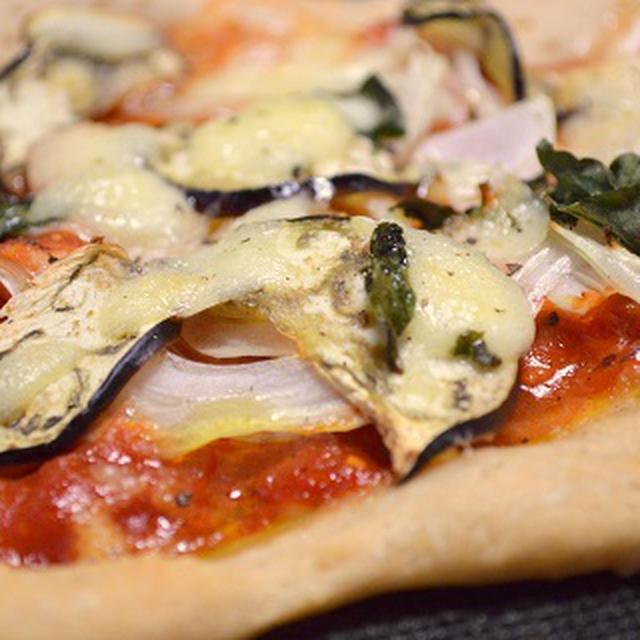 【食】 国産小麦と全粒粉で 『 PIZZA night 』!!