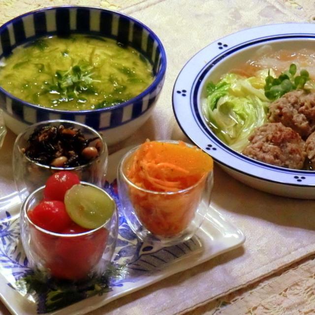 肉団子と春雨のスープ!!