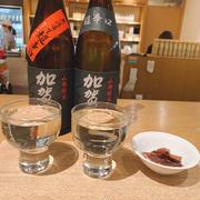 生新酒と熟成火入れの呑み比べ、二子玉川「福光屋」さんで一献