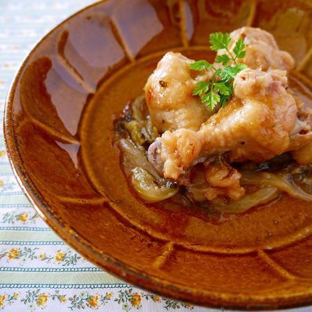炊飯器でスイッチぽん♪鶏手羽のレモンハイ煮。缶チューハイ活用法