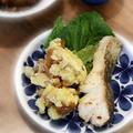 鱈の醤油麹ソテーと変わりポテサラ