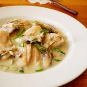 チキンと舞茸の白みそクリーム煮♪簡単おいしい秋の味覚レシピ&クックパッドニュース掲載!
