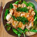 美味豚食べよう。レモンバター醤油の生バジルとんてき(糖質4.2g)