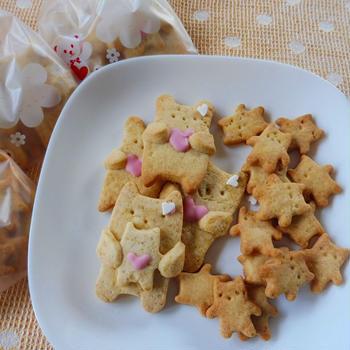 クマさん?だっこクッキー
