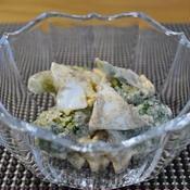 ブロッコリーとゆで卵のマヨ花椒