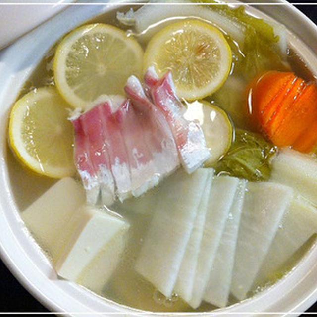 レシピ レモン 鍋