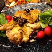 骨付き鶏もも肉の白ワイン煮♪でメリークリスマス