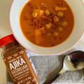 トレジョの缶詰でココナッツミルクとヒヨコ豆のカレー  Chickpea and Sweet Potato Curry