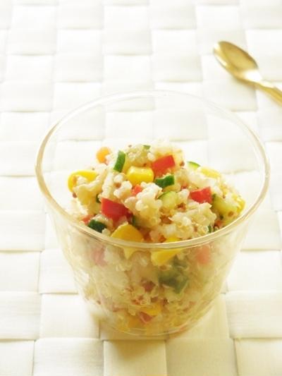 キヌアのサラダ
