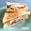 鶏肉で簡単ランチ♪ パリパリチキン サンドイッチ☆夏だぁ~♪