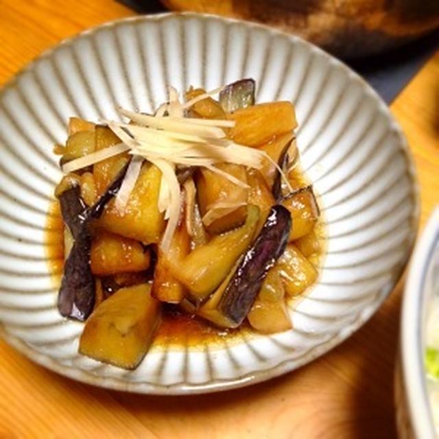 ☆絹皮茄子の炒め煮