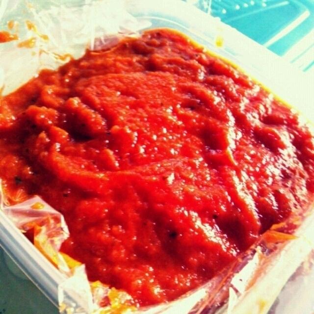 本格的トマトソース