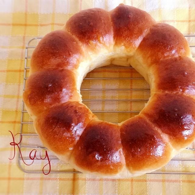ふんわり♡柔らかちぎりパン♪